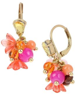 Tropical Punch Multi-color Stone Earrings