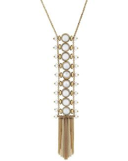 Key Items Mother-of-pearl Ladder Necklace