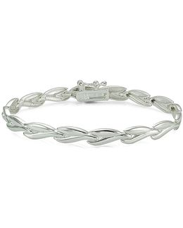 Sterling Silver High Polished Link Bracelet
