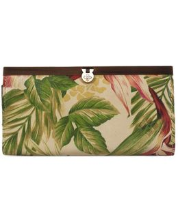 Cuban Tropical Cauchy Leather Wallet