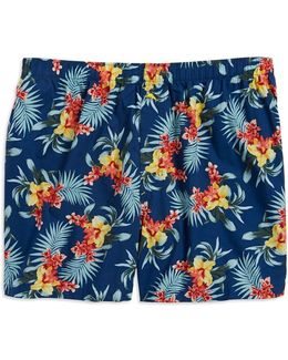 Floral Cotton Boxer