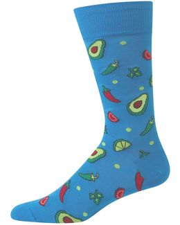 Food-print Socks