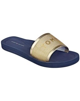 Mery Textile Band Sandals