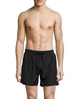 Packable Logo Swim Shorts