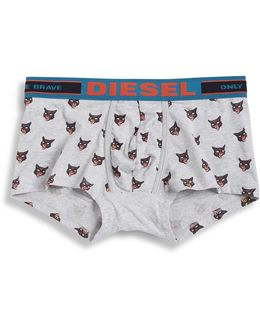 Hero Fit Cat Patterned Boxer Trunks