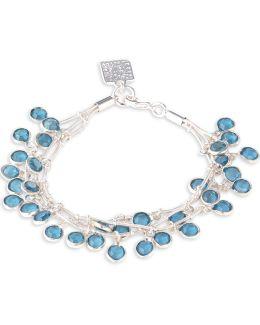 Three-row Shaky Beads Bracelet