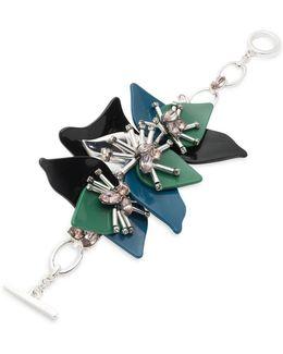 Drama Floral Bracelet