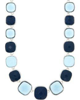 Blue Studded Necklace
