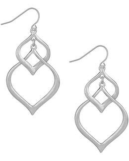 Arabesque Orbit Drop Earrings