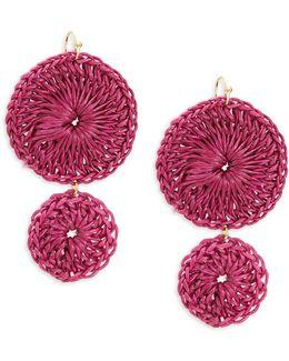 Crochet Double Drop Earrings
