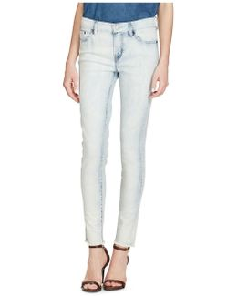 Premier Skinny Cropped High-rise Jeans