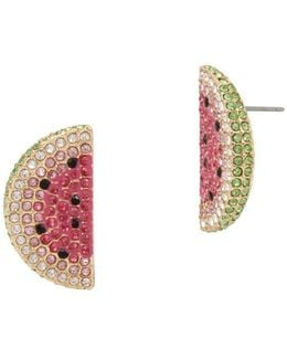 Summer Minis Watermelon Slice Earrings