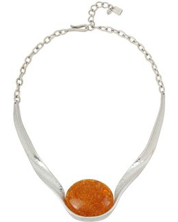Color Wheel Amber Necklace