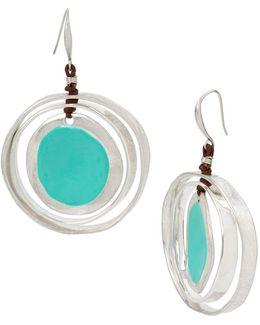Color Wheel Orbital Drop Earrings