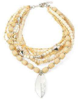 Semi-precious Beaded Necklace
