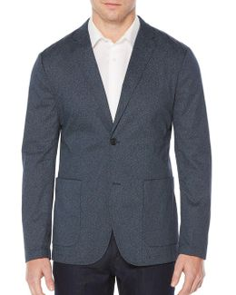 Geometric Print Jacket