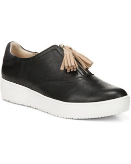 Blake Zip Leather Sneakers