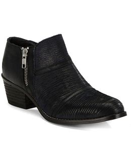 Farren Leather Ankle Booties