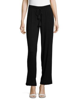 Prairie Tassel Accented Stretch Pants
