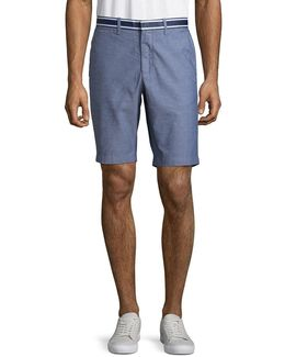 10in Stretch Oxford Shorts