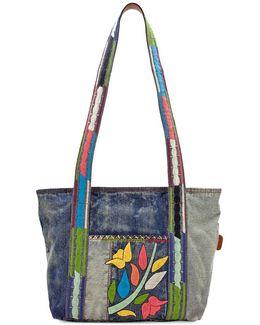 Nevoso Denim Shoulder Bag