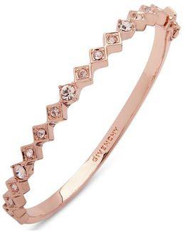 Stone Studded Silk Bangle Bracelet