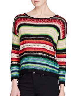 Serape-inspired Sweater