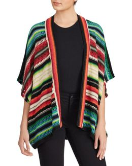 Vibrant Striped Cardigan