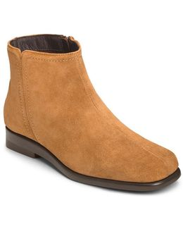 Double Trouble 2 Suede Ankle Booties