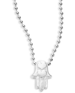 Hamsa Hand Icon Necklace