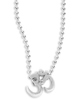 Om Sign Icon Necklace