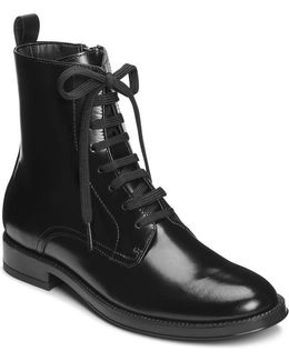 Push Limits Leather Boots