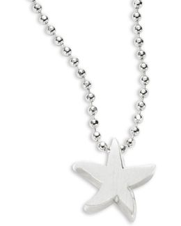 Sterling Silver Starfish Icon Necklace