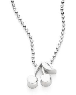 Cherries Icon Necklace