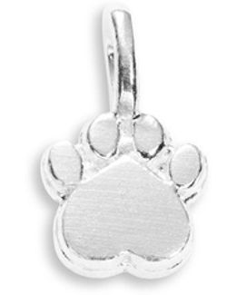 Sterling Silver Paw Charm