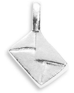 Sterling Silver Envelope Charm