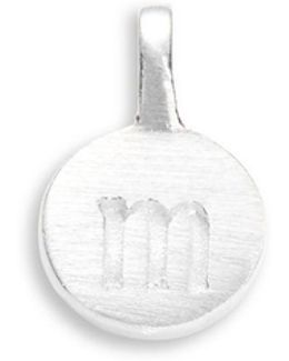 Sterling Silver M Charm