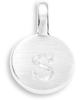 Sterling Silver S Charm