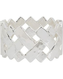 Hammered Chevron Bracelet