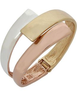Bypass Hinged Bangle