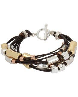 Multi-cord Toggle Bracelet