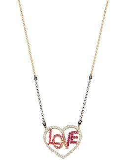 East Harlem Shuffle Crystal Necklace