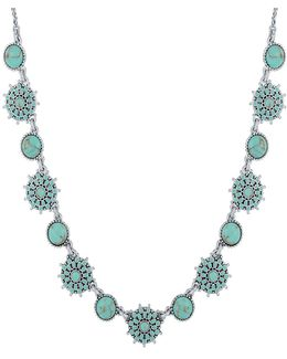 New West Turquoise Collar Necklace