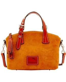 Trina Mini Suede Satchel