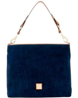 Court Suede Handbag