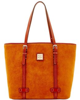 Textured Suede Tote