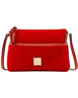 Ginger Suede Crossbody Bag