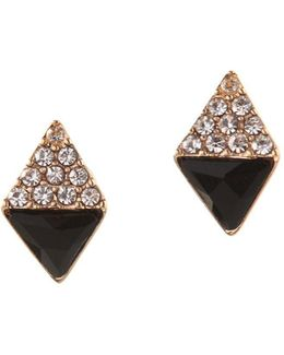 Orbital Crystal Stud Earrings