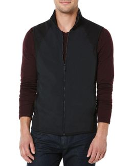 Big And Tall Zip Front Vest