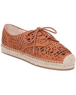 Dinah Nubuck Cutout Sneakers